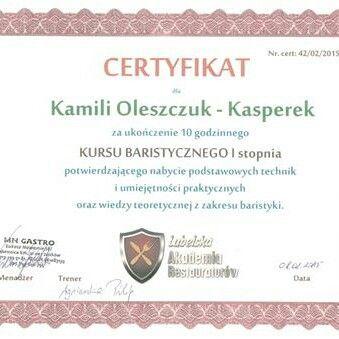 Pierwszy dyplom zawodowy