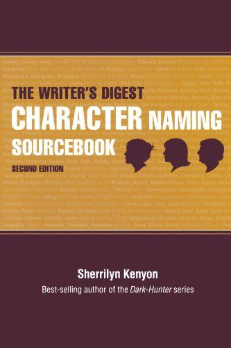 "The ""Writer's Digest"" Character Naming Sourcebook: Amazon.co.uk: Sherrilyn Kenyon: 9781582979205: Books"