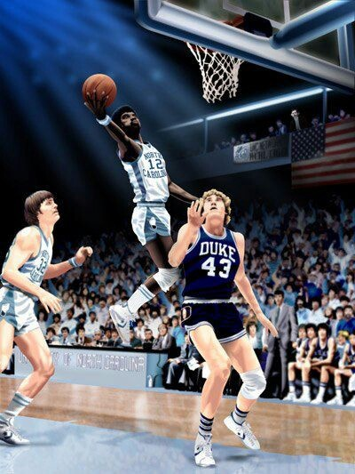 Phil Ford two time concensus All American at the University of North Carolina at Chapel Hill.  He retired as the ACC career scoring champion and the only player to have over 2,000 points and 600 assists.