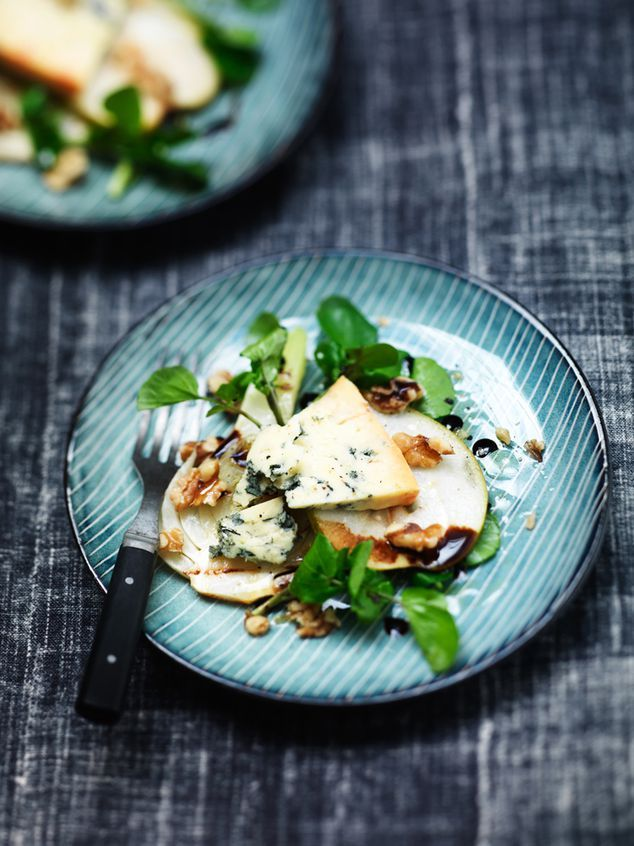 salade met peer, stilton, walnoot en gegrilde venkel | ZTRDG magazine