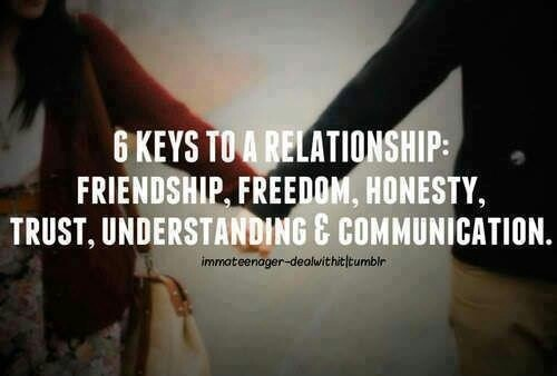 trust and understanding in a relationship
