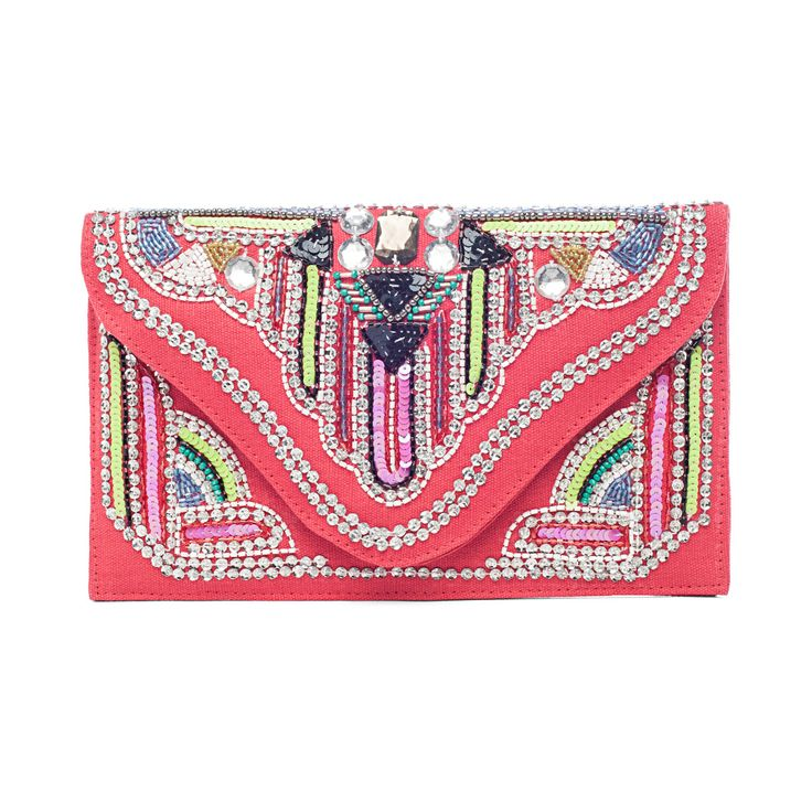 VIDA Statement Clutch - Carnelian by VIDA