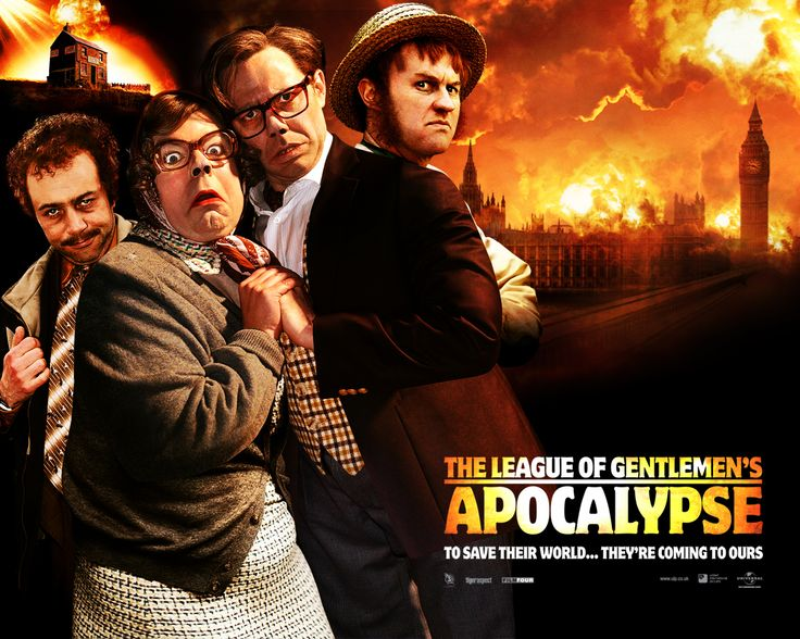 Watch Streaming HD The League Of Gentlemen's Apocalypse, starring Mark Gatiss, Steve Pemberton, Reece Shearsmith, Michael Sheen. The notorious fictional town of Royston Vasey is under threat and its inhabitants are forced to leave. #Comedy #Horror http://play.theatrr.com/play.php?movie=0435687