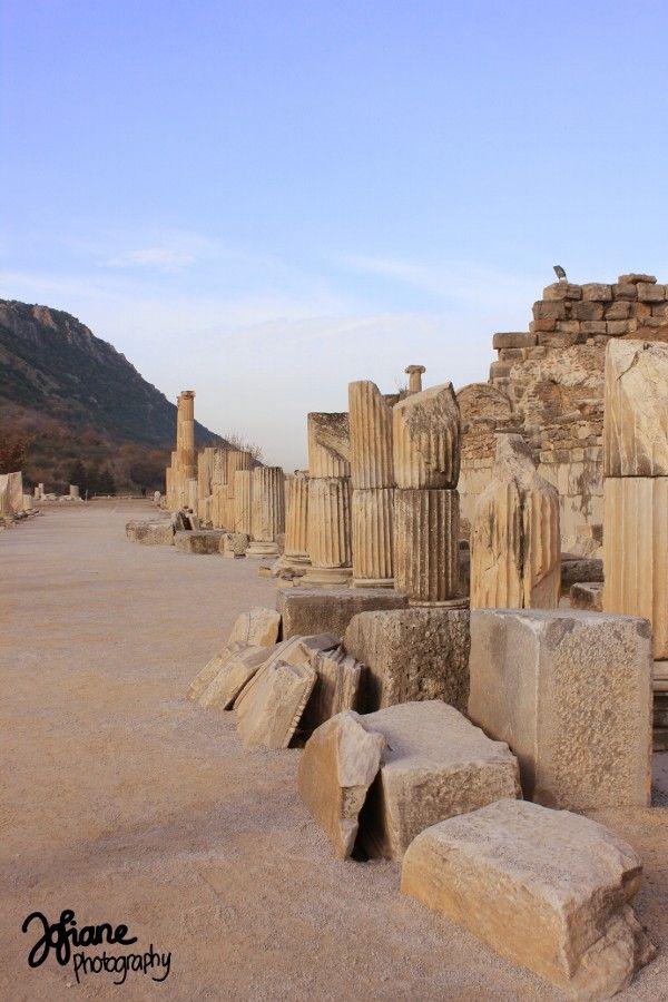 Pillars in Ephesus