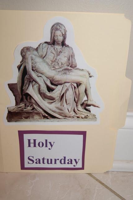 Holy Saturday folder