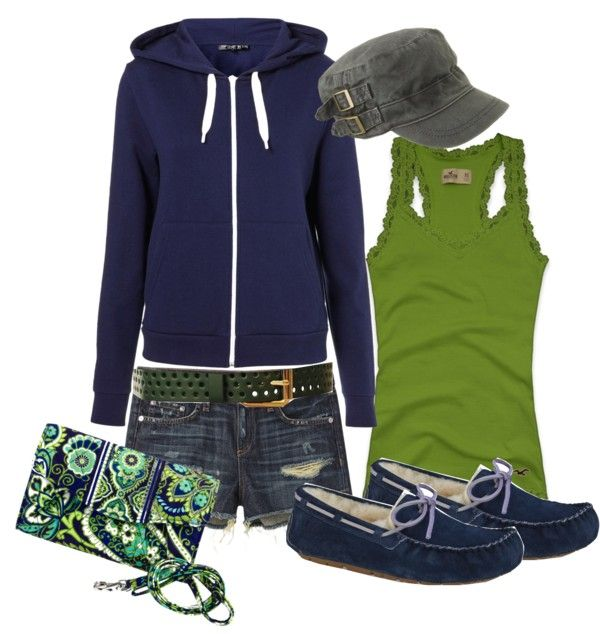"""""""Vera Bradley and Uggs~ Perfect 'just for fun' outfit!"""""""