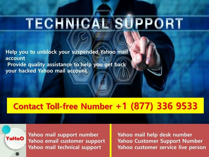 Helpline Number 1 877 336 9533 For Yahoo Mail Mailing Yahoo Numbers