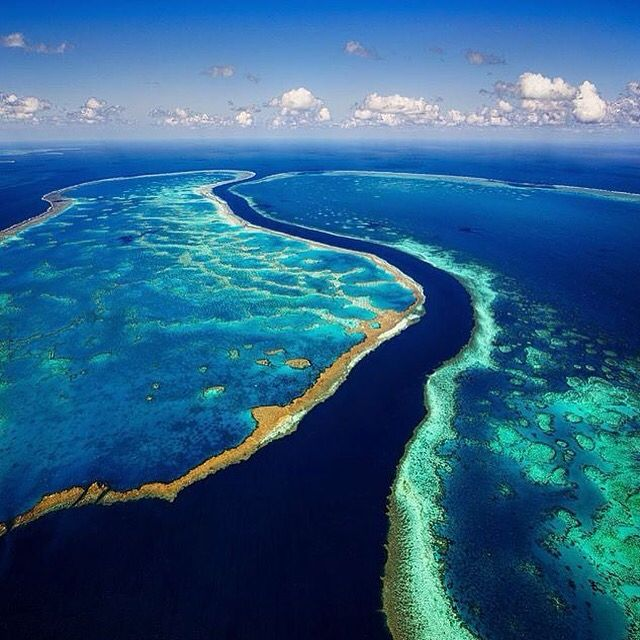 Amazing photo of the Great Barrier Reef