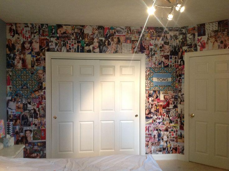 17 Best Ideas About Magazine Collage Walls On Pinterest