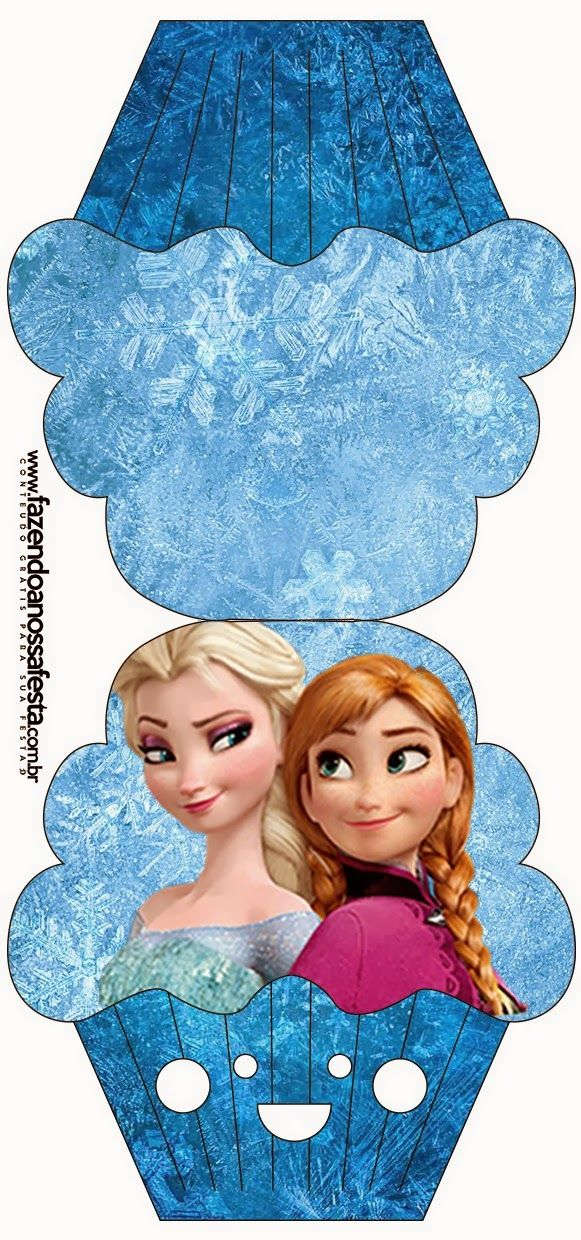 Frozen: Free Printable Cards or Party Invitations.  The Tags