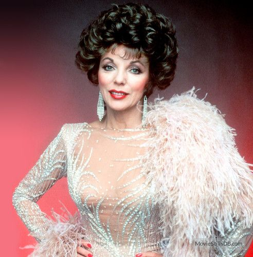 Dynasty promo shot of Joan Collins