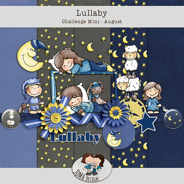 SoMa Design: Lullaby - Challenge Mini August