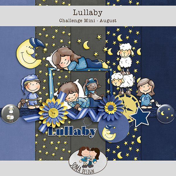 SoMa Design: Lullaby - Challenge Mini August