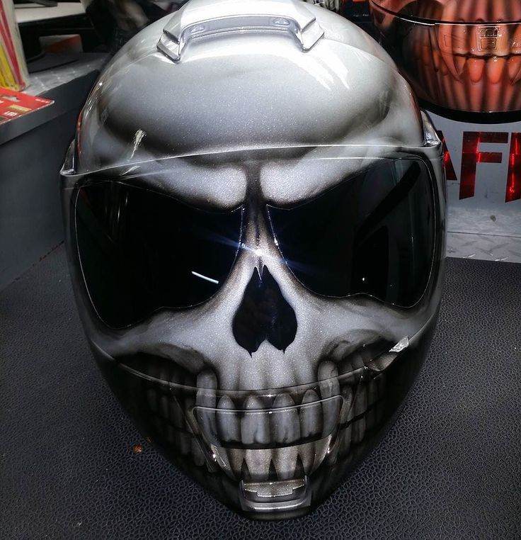 Custom Airbrushed Motorcycle Helmet by Airgraffix.com 307