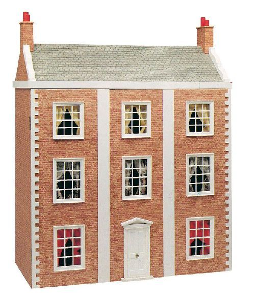 63 best dolls house kits images on pinterest doll houses for Victorian style kit homes