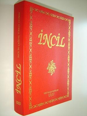 Turkish New Testament / INCIL / Incil'in Cagdas Turkce Cevirisi