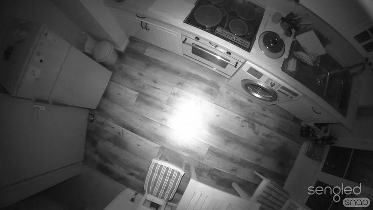 Selbst in der Nacht macht die Sengled Snap sehr gute Aufnahmen.