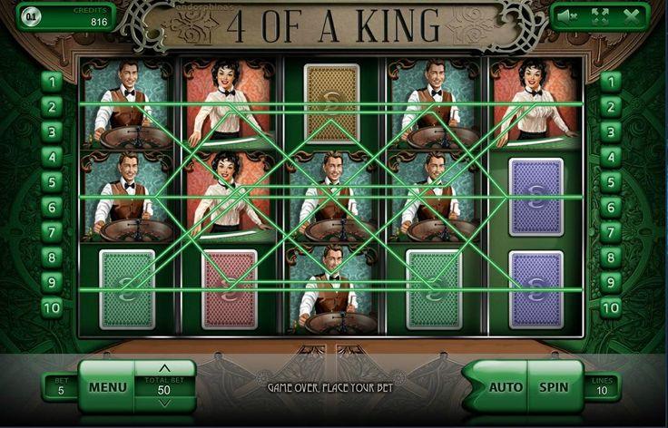 Игровой автомат 4 of a King  Тематика цирка хорошо знакома каждому еще с детства. Ведь именно в этом месте можно рассчитывать на самые настоящие чудеса, волшебство и приятные сюрпризы! Ведь именно мысли о цирке побуждают улыбнуться и мысленно отгородиться от повседневных забот, переживаний и суеты. Эта тематика знакома каждому и именно поэтому азартные игры из серии 5 Reel Circus так популярны и востребованы среди клиентов!  Сама игра предусматривает наличие пяти барабанов и целых пятнадцати…
