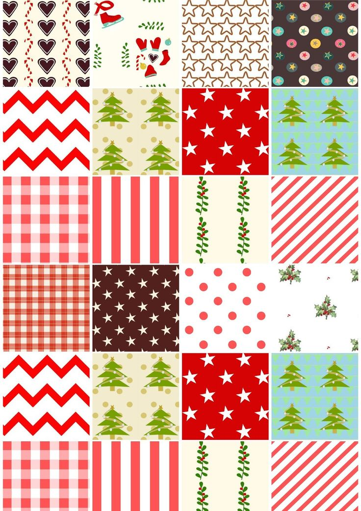 Free digital patchwork scrapbooking paper - ausdruckbares Geschenkpapier - freebie | MeinLilaPark – DIY printables and downloads