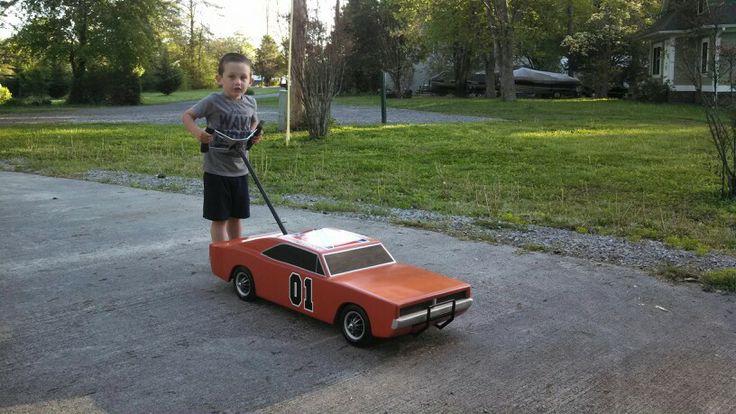 General Lee push car DIY Toys Pinterest DIY and