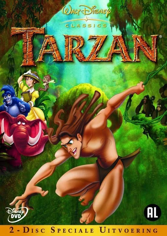 Tarzan - Speciale Uitvoering (2DVD) #disney #disneydvd #disneyclassics #tarzan