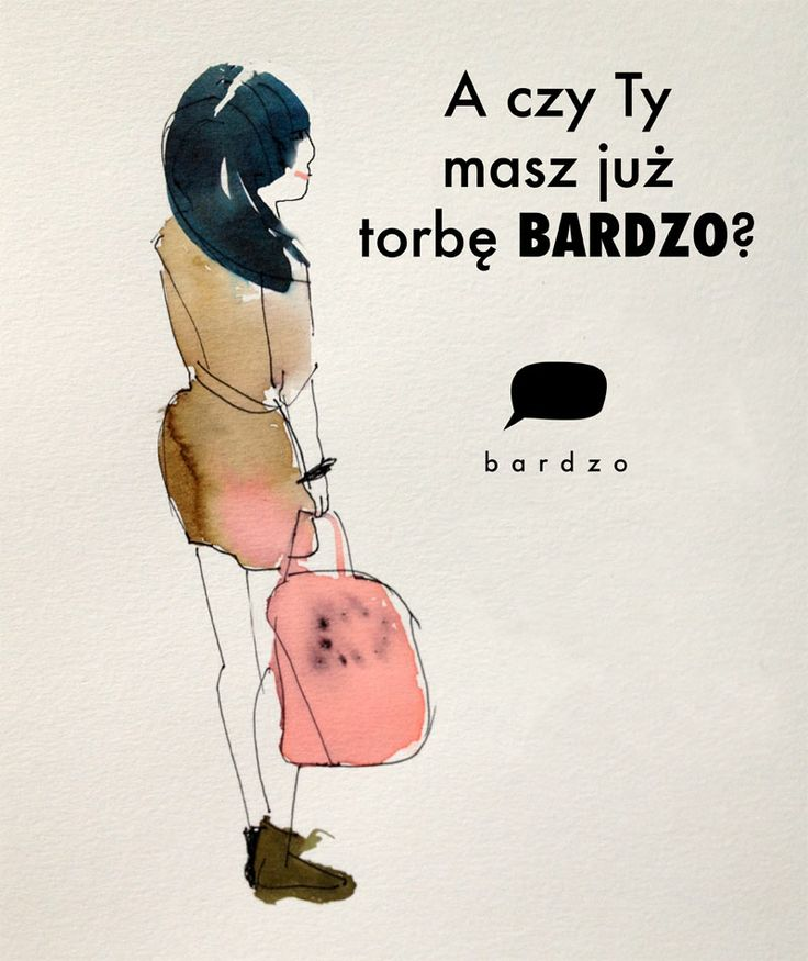 Czy masz już torbę BARDZO?  #fashion_illustration #pink #summer_bag #handbag