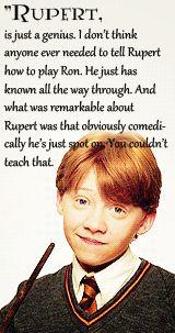 Rupert - Ron - J.K. Rowling´s words gif