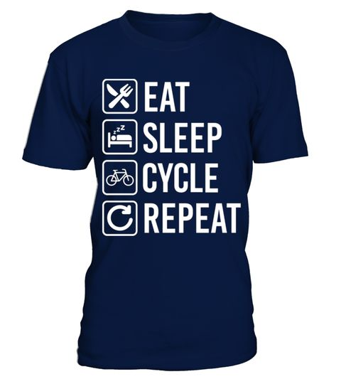 Cycling Eat Sleep Repeat best sport team player gift