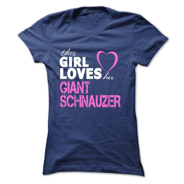 Girl Loves Her GIANT SCHNAUZER