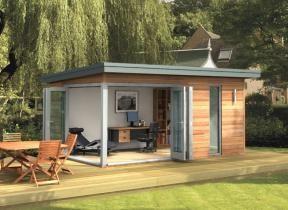 sustainable design garden office