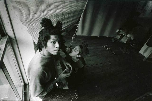 Jean-Michel Basquiat and Madonna