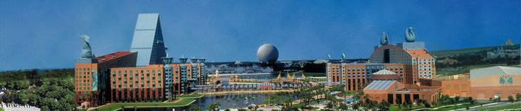 Walt Disney Dolphin Hotel - my best ever holiday was spent here. One of my favourite places on Earth. Good times.