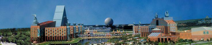 Swan and Dolphin, Walt Disney World, FL, SolidWorks World 2009