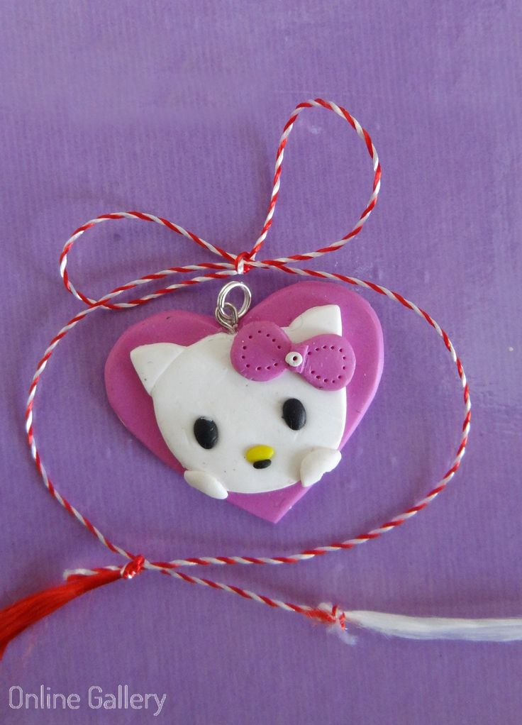 Pandantiv – bijuterie Hello Kitty #martisoare #martisor
