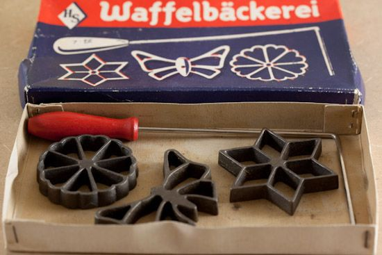 Recipie and Instruction for how to use German Rosette Iron Set I inherited from mom.