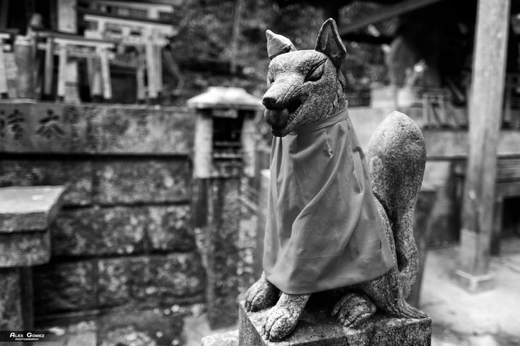Kitsune - In Japan, kitsune means fox, and depicts a fox-like forest spirit that takes care of the forests and villages. Its origin goes back to Old Japan, when these animals lived in harmony with humans, deriving an endless number of legends. Kitsune is an important figure in Japanese mythology, as it is believed that the fox is an intelligent being with magical abilities that increase with age, as well as his knowledge