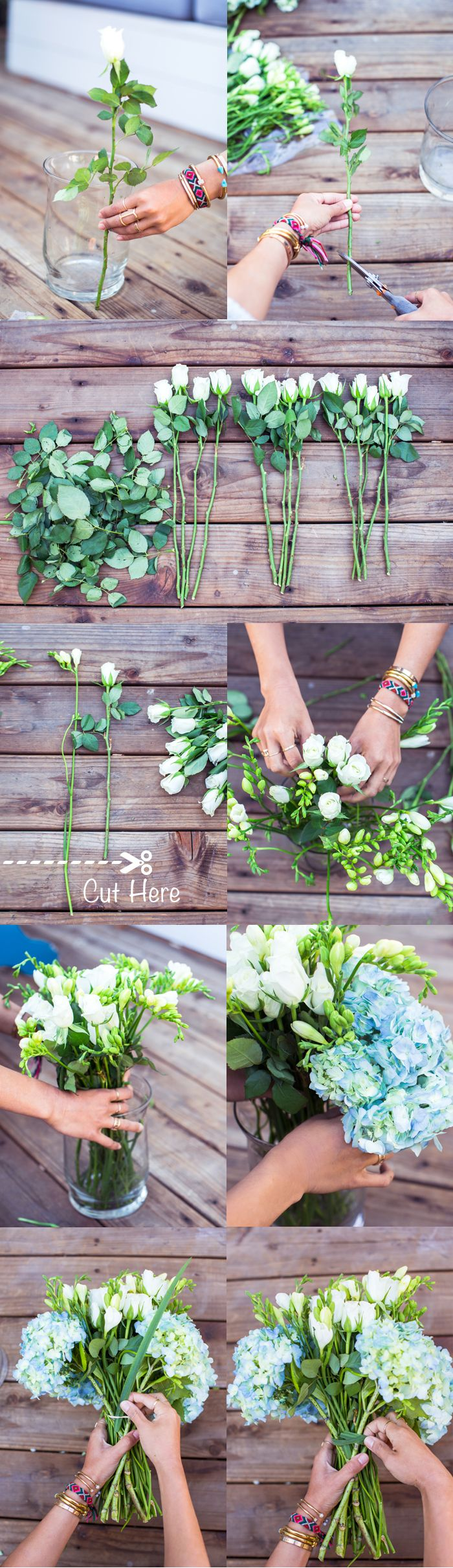 DIY para te ajudar na hora de montar um arranjo de flores <3 DIY to help you when mounting a flower arrangement <3