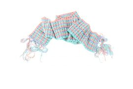 Crochet Scarf Pastels - Made by Hand - Crochet