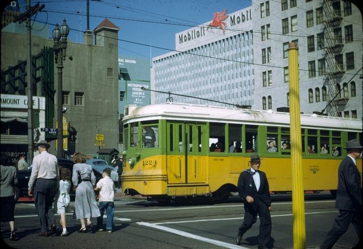 Downtown. 1949 L.A. Noir Pinterest Cars, Downtown