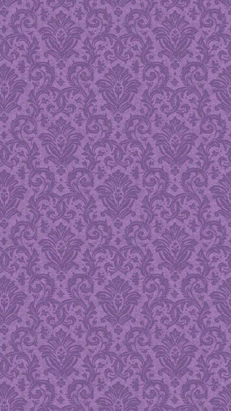 Pin by Megan May on Sfondi Purple wallpaper, Damask