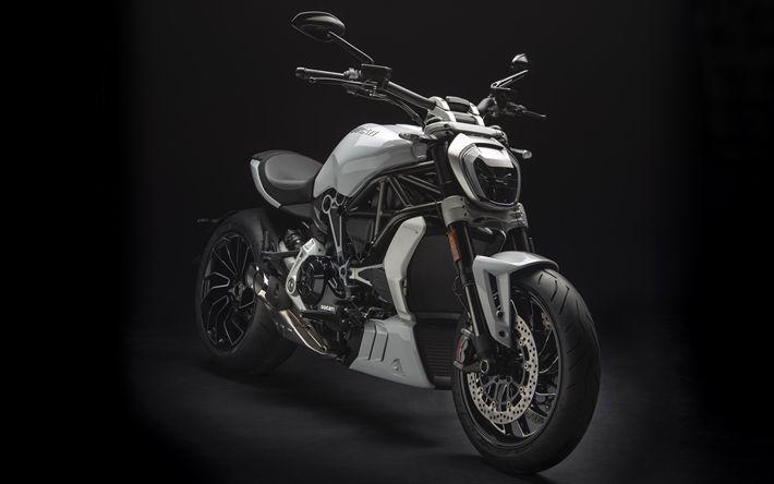 Lataa kuva Ducati XDiavel, 2018, viileä moottoripyörä, uusi XDiavel, italian moottoripyörät, Ducati