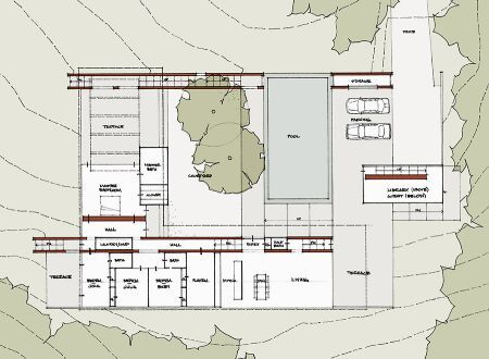 Open Courtyard House Plans Old Style Courtyard House