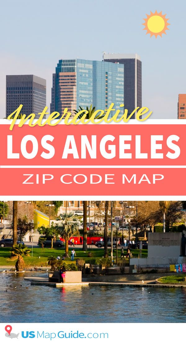 Los Angeles Ca Zip Code Map Zip Code Map Zip Code Los Angeles