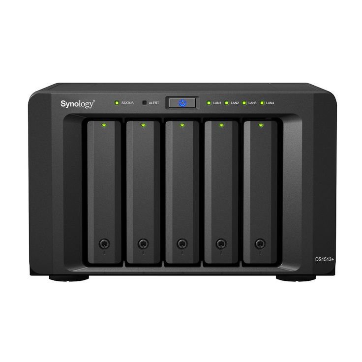 Synology Diskstation Diskless Network Attached Storage Nas With