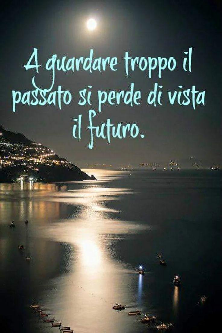 A guardare troppo il passato si perde di vista il futuro!