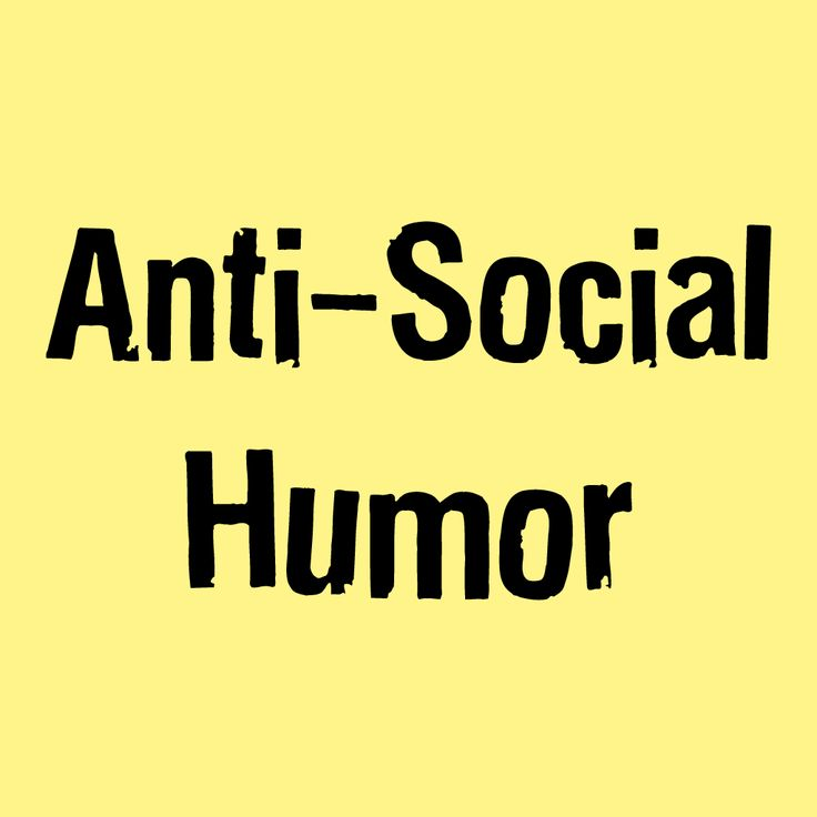 Aren't you tired of today's social hype? Be social online, offline, at work, at home everywhere. It's time for a reality check with some cool anti-social humor and, why not, an anti-social network.