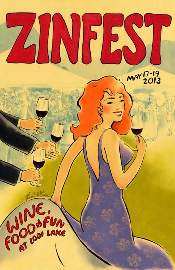 Sip, swirl and savor from a selection of 250 handcrafted wines from 50 Lodi wineries.   Lodi Wine's ZinFest Wine Festival, May 18th 12-5pm