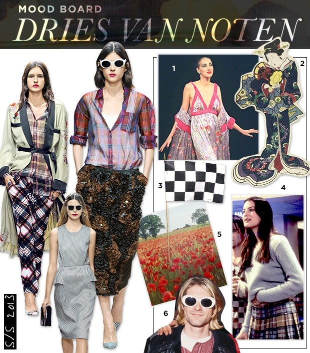 how to make a fashion mood board in photoshop