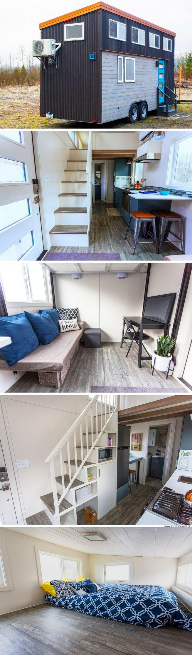 The Alki Enhanced tiny house (275 Sq Ft)