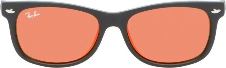 Ray-Ban Tinted Acetate Wayfarer Junior Frame